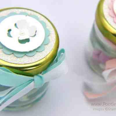 Adorable Shower/Favour Jars Tutorial