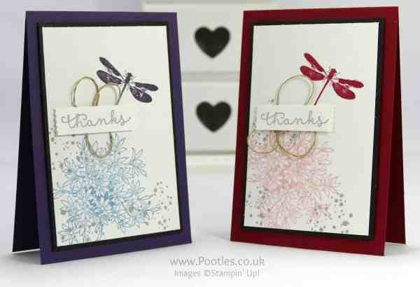 Stampin' Up! Demonstrator Pootles - Awesomely Artistic Large Bordered Card Tutorial
