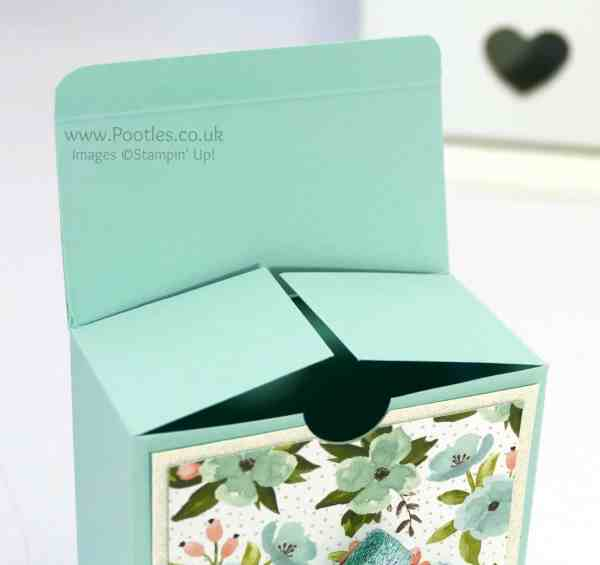 Stampin' Up! Demonstrator Pootles - Pretty Box for 3x3 cards... Or for Soaps! Open