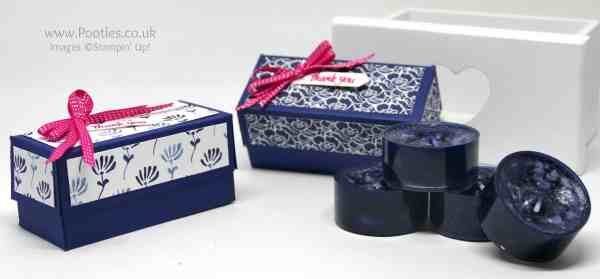 Stampin' Up! Demonstrator Pootles - Floral Boutique Yankee Candle Box