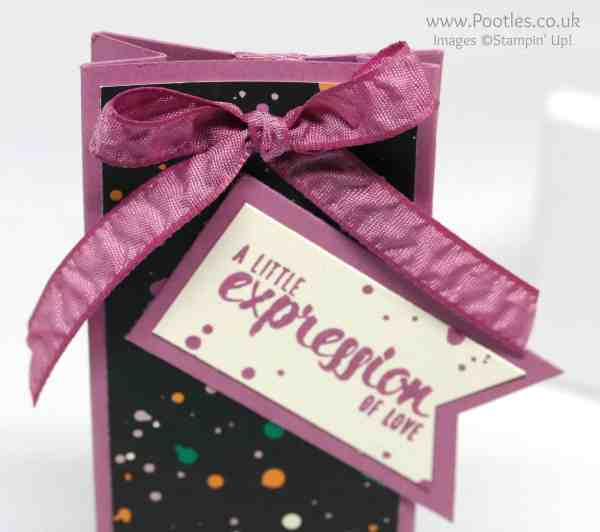 Stampin' Up! Demonstrator Pootles - Playful Palette Suite Painter's Palette Pretty Bag Detail