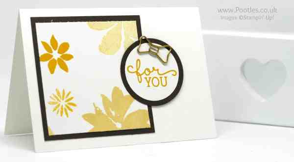 Stampin' Up! Demonstrator Pootles - Thank You Cards using Blooms & Wishes Single