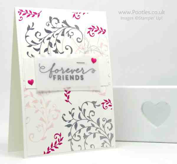 Stampin' Up! Demonstrator Pootles - At First Sight we are Forever Friends!