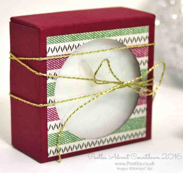 Pootles Advent Countdown 2016 Jumbo Tea Light Window Box Warmth and Cheer