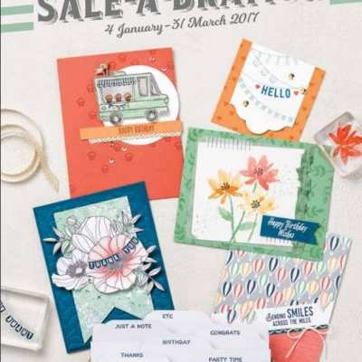 Who Wants a FREE copy of the new Spring Summer Catalogue AND Sale a Bration Brochure??