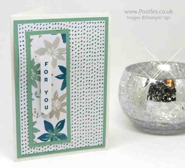 Stampin' Up! Demonstrator Pootles - Blooms & Bliss Customer Thank You Cards Mint Macaron