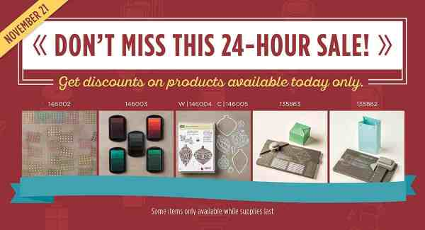 Stampin' Up! Demonstrator Pootles - Online Extravaganza is ON and Flash Sale #1 Starts NOW!
