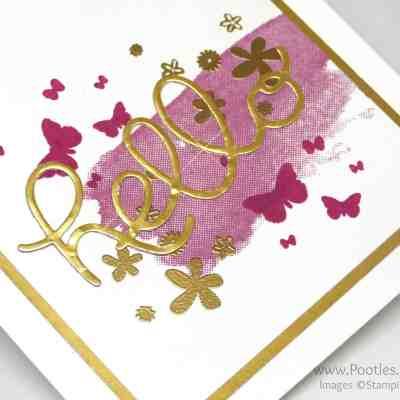 Hello You Golden Perpetual Birthday