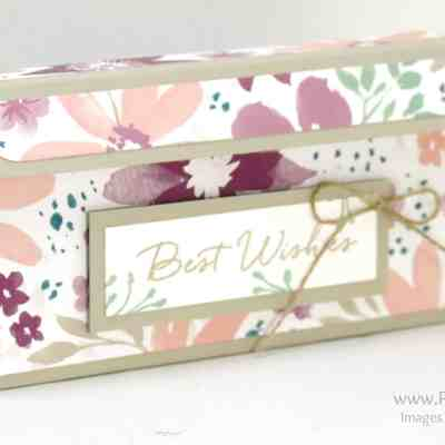 My 4th Anniversary with Stampin' Up! Double Jumbo Tea Light Blossom Box