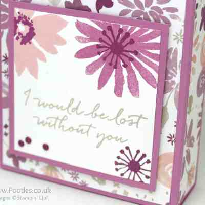 Tall Wide Box using Blooms & Bliss