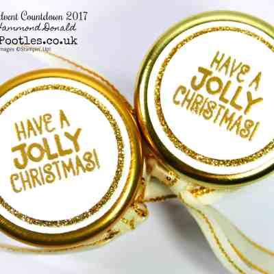 Pootles Advent Countdown #20 Cute Mini Jar Treat Tutorial