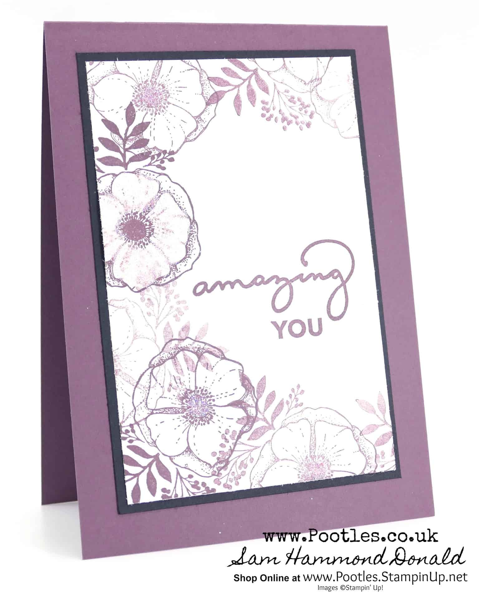 Stampin Up 1 Demonstrator Pootles Happy Mothers Day