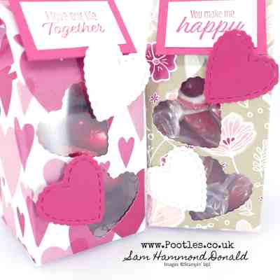 SpringWatch 2019 Window Valentine Box using All My Love & Meant To Be