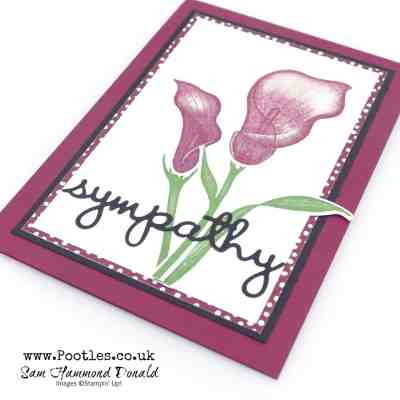 Lasting Lily in Blackberry Bliss with Well Written Framelits