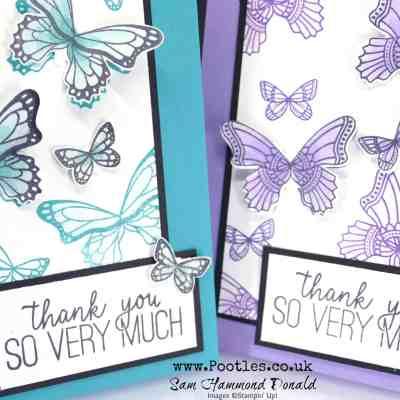 Butterfly Gala Blends Card Tutorial