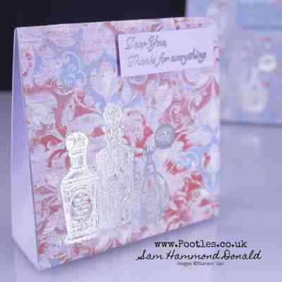 Fanciful Fragrance Tent Box