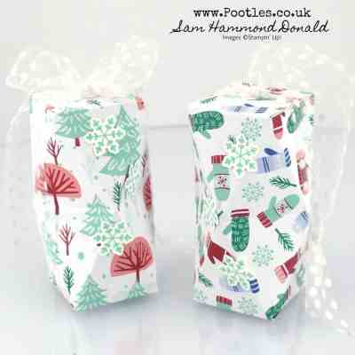 Stampin' Up! Mini Double Faceted Box Tutorial