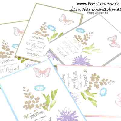Springwatch 2020 #6 Hand Stamped Customer Thank You Cards and Pootlers Blog Hop