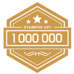 1 million sales achiever with Stampin' Up!