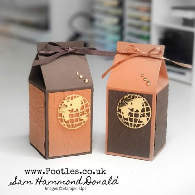 How To Make An Embossed Masculine Milk Carton Gift Box