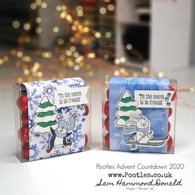 Pootles Advent Countdown 2020 Chocolate Treats with Freezin' Fun
