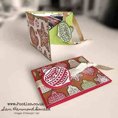 Fancy Fold Christmas Gift Card Holders – Pootles Advent Countdown 2021 #3