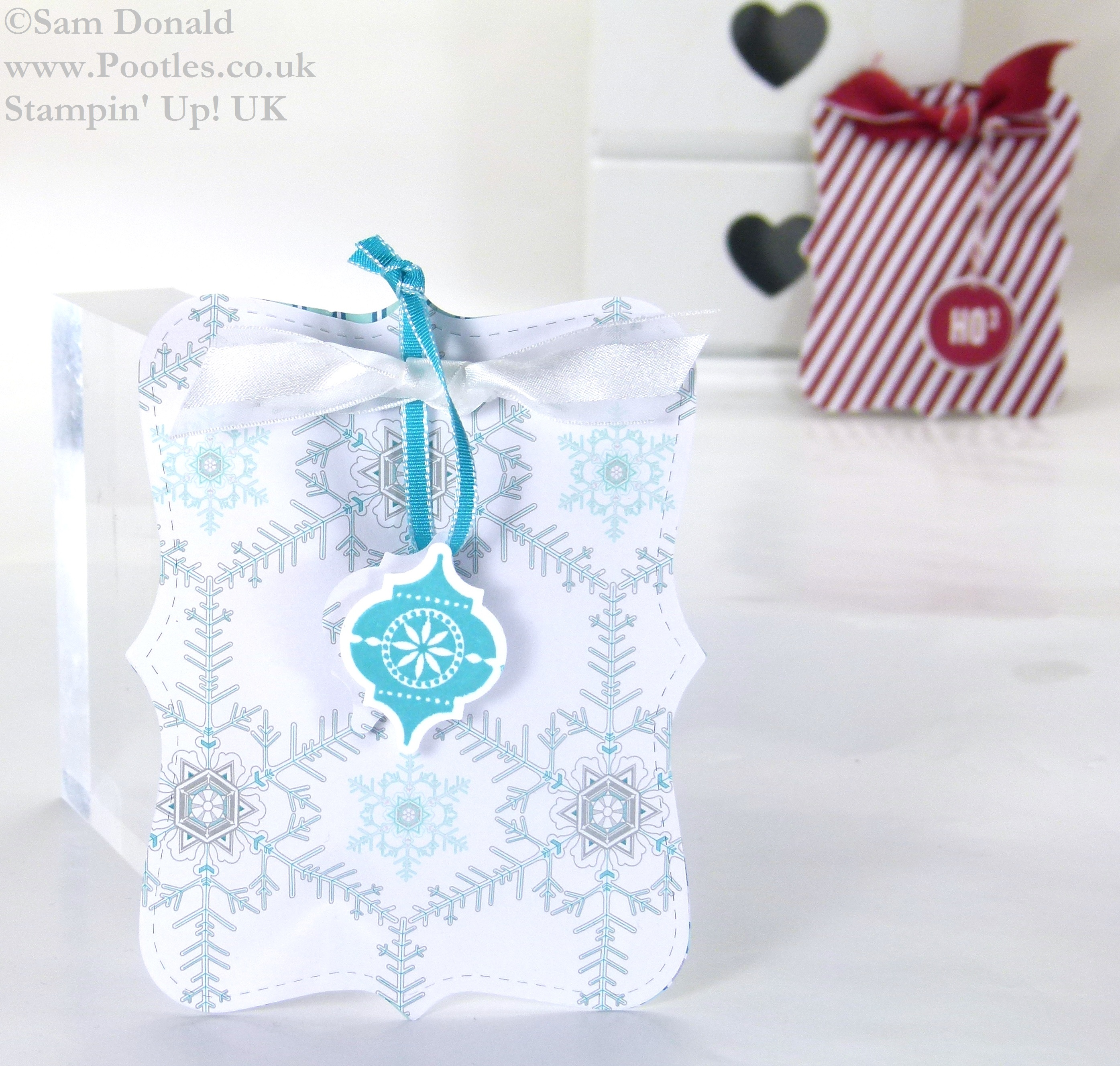 Advent Countdown 18 Top Note Sweetie Pouches