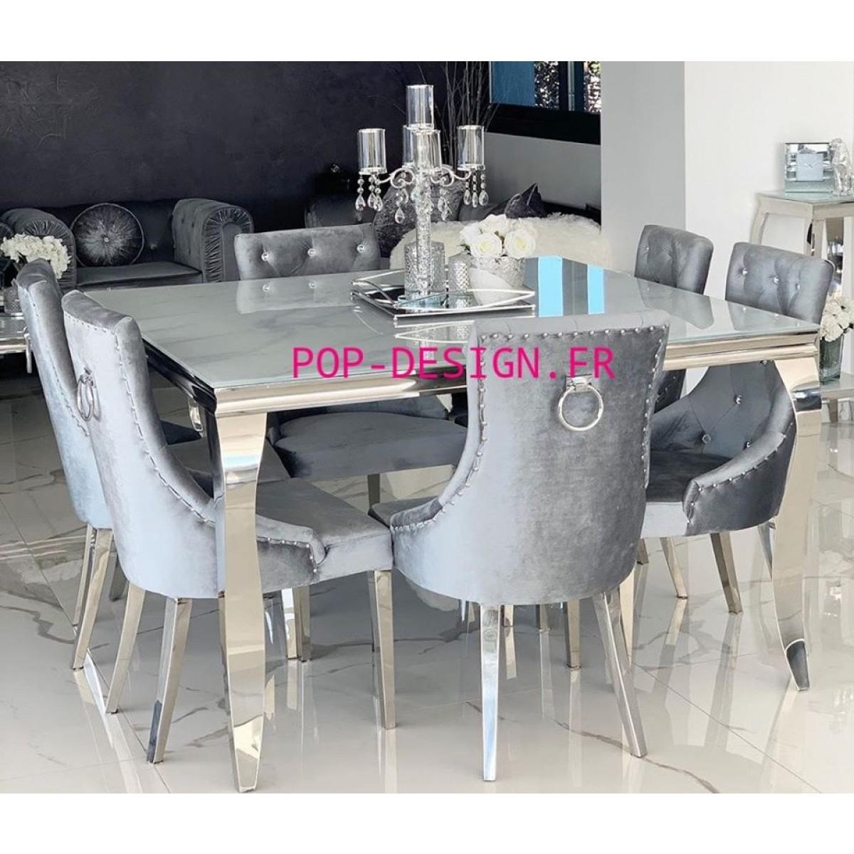 table de salle a manger baroque