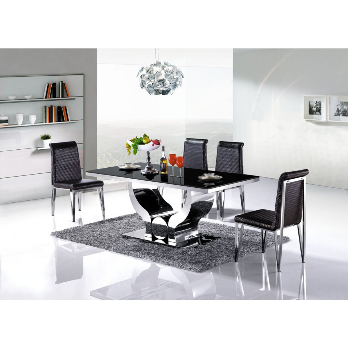 Table De Salle Manger En Inox Nova Pop Designfr