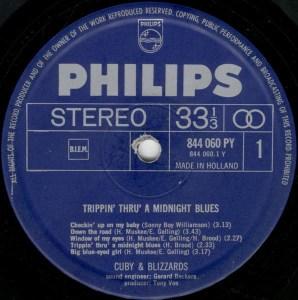 CubyBlizzards – Trippin Thru A Midnight Blues LP 1