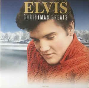 Elvis – Christmas Greats LP Cover
