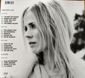 Ilse DeLange – After The Hurricane LP Back Cover