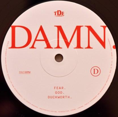 Kendrick Lamar – Damn LP D