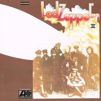 Led Zeppelin II LP Cover