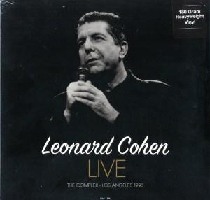 Leonard Cohen – Live At The Complex Los Angeles 1993 LP