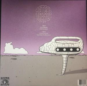 Meteor Vortex – Spiraled Beyond The Reach LP Back Cover