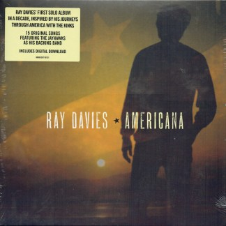 Ray Davies ‎– Americana LP Cover