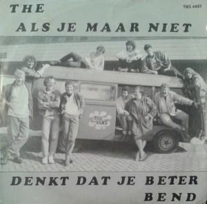 The Als Je Maar Niet Denkt Dat Je Beter Bend – Für Denise Onschuldig In De Hitparade LP Cover