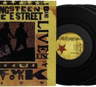 Bruce Springsteen Live In New York City LP