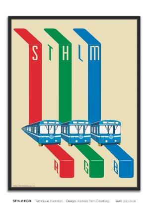 STHLM RGB framed