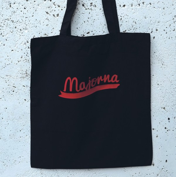 Tote bag Majorna black