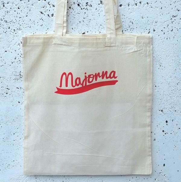 Tote bag Majorna red
