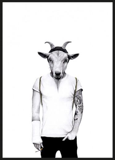 Sanna Wieslander - Hipster goat
