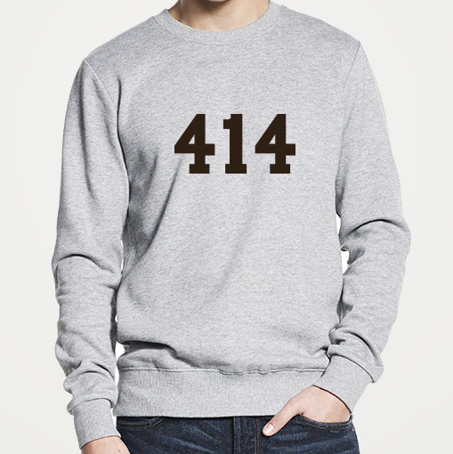 414 Ekologisk sweatshirt