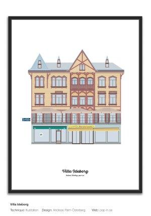 Villa Ideborg framed