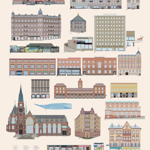 The visual guide to Gothenburg - Part II Linnéstaden