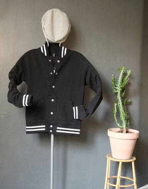 Pop-in Baseball jacket Black