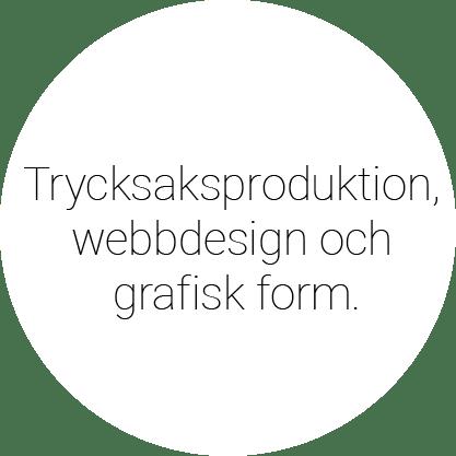 Utbildning Trycksaksproduktion, webbdesign och grafisk form.