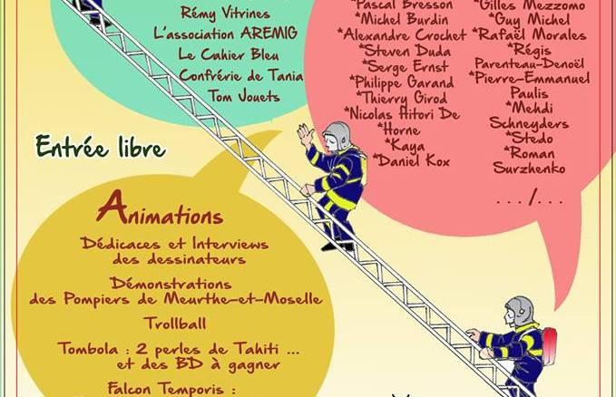 Affiche du 4e Festival BD de la Malgrange
