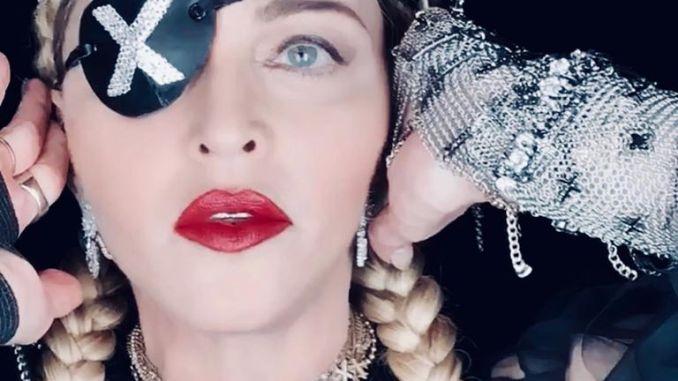 Portrait de Madonna en mai 2019